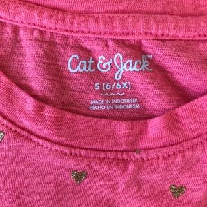 Cat & Jack Shirts & Tops - 2-for-1 tee shirts hearts